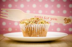 Honey Nut Cupcakes for Valentine's Day ~ Cupcake Project