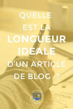 Découvrez quelle est la longueur idéale pour vos articles de blog en cliquant ici