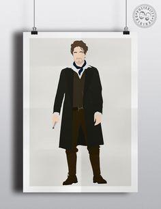 #minimalist #poster #posteritty #fanart #whovian #drwho #doctorwhol #eighth #McGann