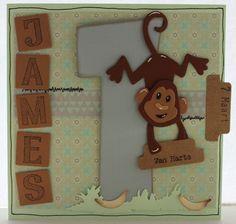 Gemaakt door Joke # kinderkaart - James 1 jaar