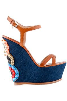 Dsquared2 - Women's Accessories - 2015 Pre-Spring |  shoes ( wedges 1 )