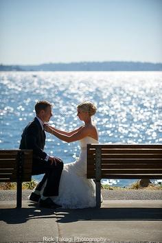 Kirkland & Woodinville wedding photos. Shot this on the Kirkland waterfront.