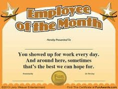 Luxury 53 employee recognition template powerpoint pptx best free employee of the month certificate template employee of the month template best business template employee of the month template cyberuse yadclub Image collections
