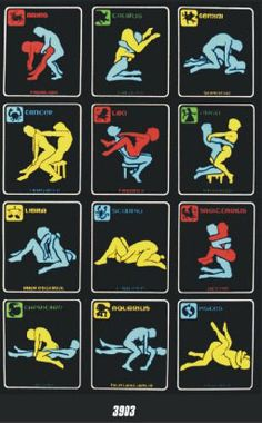 Zodiac Sex Positions Poster 32