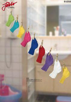 Baby socks in our cotton yarn Nova. Nova, Stick O, Baby Socks, Baby Knitting, Pixie, Crochet Earrings, Drop Earrings, Pattern, Cotton