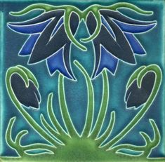 Beautiful Motawi Tile For Wall Ornament Ideas: Motawi Tile Flowers For Wall Otnament Ideas