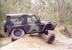 Land Rover, flexing Now that's a bit much, are you sure it's still attached