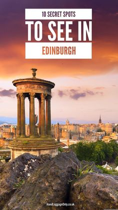 10 Secret Places To See When Visiting Edinburgh - Hand Luggage Only - Travel, Food & Photography Blo Edinburgh Travel, Visit Edinburgh, Edinburgh Sights, Edinburgh Attractions, London Travel, Scotland Vacation, Scotland Travel, Scotland Trip, The Journey