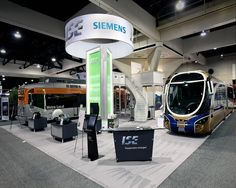 Exhibition Stand for Siemens during its participation in APTA Expo at USA. Are you looking for some unique exhibition stand then contact us http://www.expodisplayservice.ae/FreeDesign.aspx