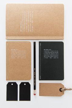 notebooks by @SERAX // photo via 70percentpure.be
