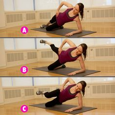 5 Moves to Sculpt Your Butt and Thighs http://www.womenshealthmag.com/fitness/butt-and-thigh-workout Side Hip Raises, Hip Lifts, Leg Raises, Lying Leg Lifts, Thighs Women, Pole Dancing Fitness, Health Motivation, Butt Workout, Shin