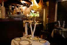 Often voted the most romantic restaurant in Boston, The Hungry I is a hidden gem below street level on Beacon Hill. It is small, with just a few cozy tables, a fireplace, and delicious French dishes with names like Venison au Poivre Noir.   #topchef #yougottatryboston