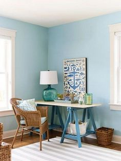 ComfyDwelling.com » Blog Archive » 30 Inspiring Coastal And Beach Inspired  Home Offices