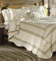 Twin Lucille Bedspread | Quilts and Quilt Sets