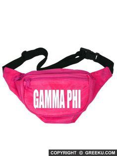Gamma Phi Beta Neon Nickname Fanny Pack