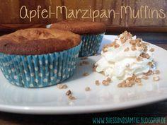 Apfel-Marzipan-Schichtmuffins