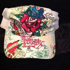 Ed Hardy Accessories - Ed hardy hat