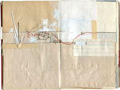 Isaac Tobin, Sketchbooks and Drawings via artnicks