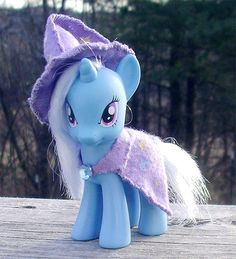 My Little Pony G4 Custom Trixie by JackalGallery on Etsy, $45.00