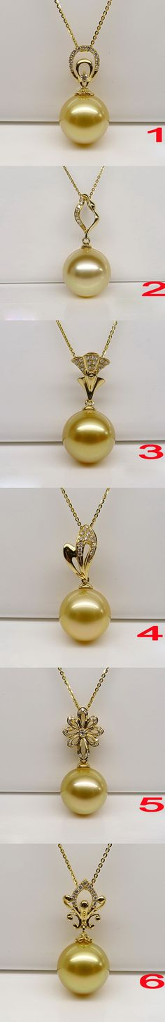 Which pearl pendant is your favorite? I love No.2