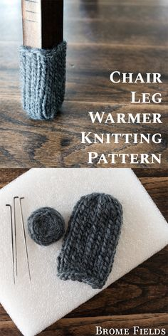 Chair Leg Warmers Knitting Pattern - Brome Fields Chair Leg Warmer Knitting Pattern by Brome Fields Knitting , lace processing is the most beautiful hobbies that ladies w. Loom Knitting Patterns, Knitting Blogs, Knitting For Beginners, Knitting Socks, Free Knitting, Knitting Projects, Chair Socks, Boot Socks, Knit Leg Warmers