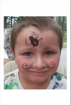 Miraculous Mustache Face Painting Facebook Com Taylorfacepaints Face Hairstyle Inspiration Daily Dogsangcom