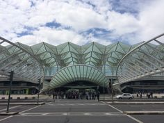 #Architecture at Lisbon's Oriente #trainstation