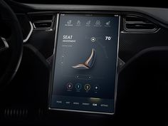 Tesla Concept exploration by vicon for 09UI