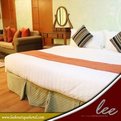 Experience a wonderful Tagaytay staycation with #LeeBoutiqueHotel's cozy and affordable rooms that you will surely love.  Book now at www.leeboutiquehotel.com!