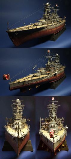 Nagato IJN | Battleship 1/350 Scale model
