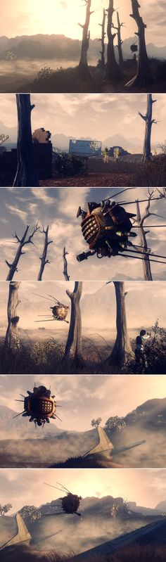 the downed plane #fallout