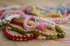 One 40cm strand of 4mm yellow color dyed jade by Inthecloudsbeads