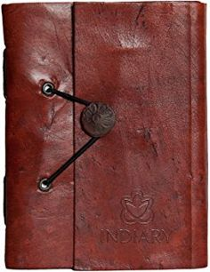 INDIARY luxury notebook buffalo leather and handmade paper - Leather Shuffle - cm Leather Notebook, Leather Journal, Gifts For Him, Gifts For Women, Writing Notebook, Birthday Gift For Him, Handmade Journals, Book Journal, Personalized Gifts