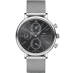 IWC Portofino Chronograph Automatic Stainless Steel Mens Watch IW391012
