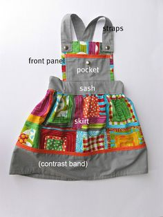 Girl Pinafore tutorial! This is gorgeous!