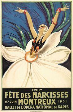 XVIIIe Fête des Narcisses, Montreux - 1931 -