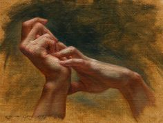 Hand Study - Kamille Corry