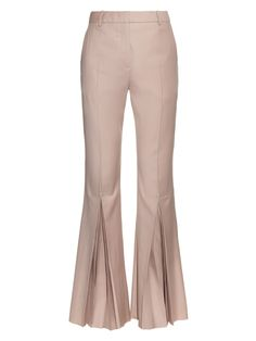 Polly high-rise kick-flare wool trousers | Jonathan Saunders | MATCHESFASHION.COM UK