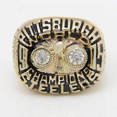 Pittsburgh Steelers 1975 Super Bowl Championship Ring