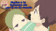 Kotaro Kashima/Ryuiichi Kashima/Gakuen Bsbysitters/Memes en español/Bebés Kashima, Gakuen Babysitters, Cute, Image, Memes En Espanol, Sisters, Short Stories, Kawaii