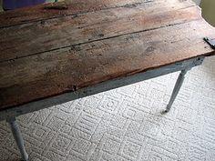 Barn Door Table Tutorial