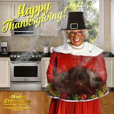 Happy Thanksgiving from A Madea Christmas! Madea Humor, Madea Funny Quotes, Funny Memes, Thanksgiving Quotes, Happy Thanksgiving, Christmas Quotes, Tyler Perry Quotes, Madea Movies, Creepypasta Characters