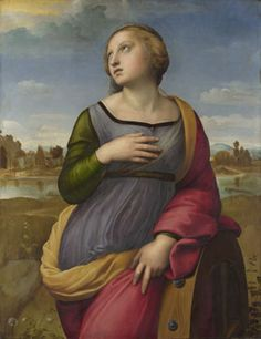 Saint Catherine of Alexandria, Raphael, 1507, National Gallery (London)