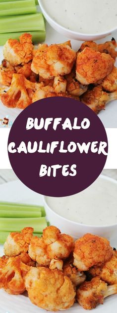 An absolutely delicious and easy healthy buffalo cauliflower bite recipe! Same flavor as buffalo wings or buffalo chicken dip - just healthier! #healthgradeswellness #fuelsnackattack