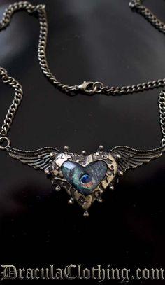 Steampunk Wings Jewelry