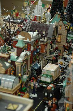 Village Street display