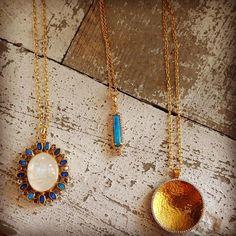 Fabulous new @gurhanjewelry necklaces! #gurhan #newjewelry #opalnecklace #goldnecklace #diamond #cabochonopalnecklace #lightbluemoonstone #moonstonenecklace #mccaskillandcompany #destinflorida