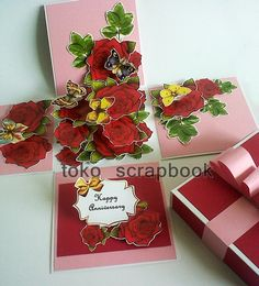 kartu ucapan anniversary lucu ll cardbox anniversary roses