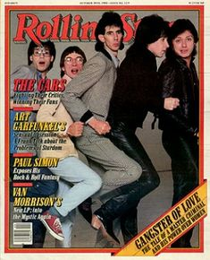 The Cars on Rolling Stone