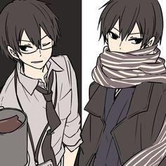 """おそら on Twitter: """"残業崎と寒波で動きが鈍くなる崎… """" Cute Anime Guys, Anime Boys, Boy Character, Art Poses, Art Series, Akatsuki, Me Me Me Anime, Anime Art, Avatar"""